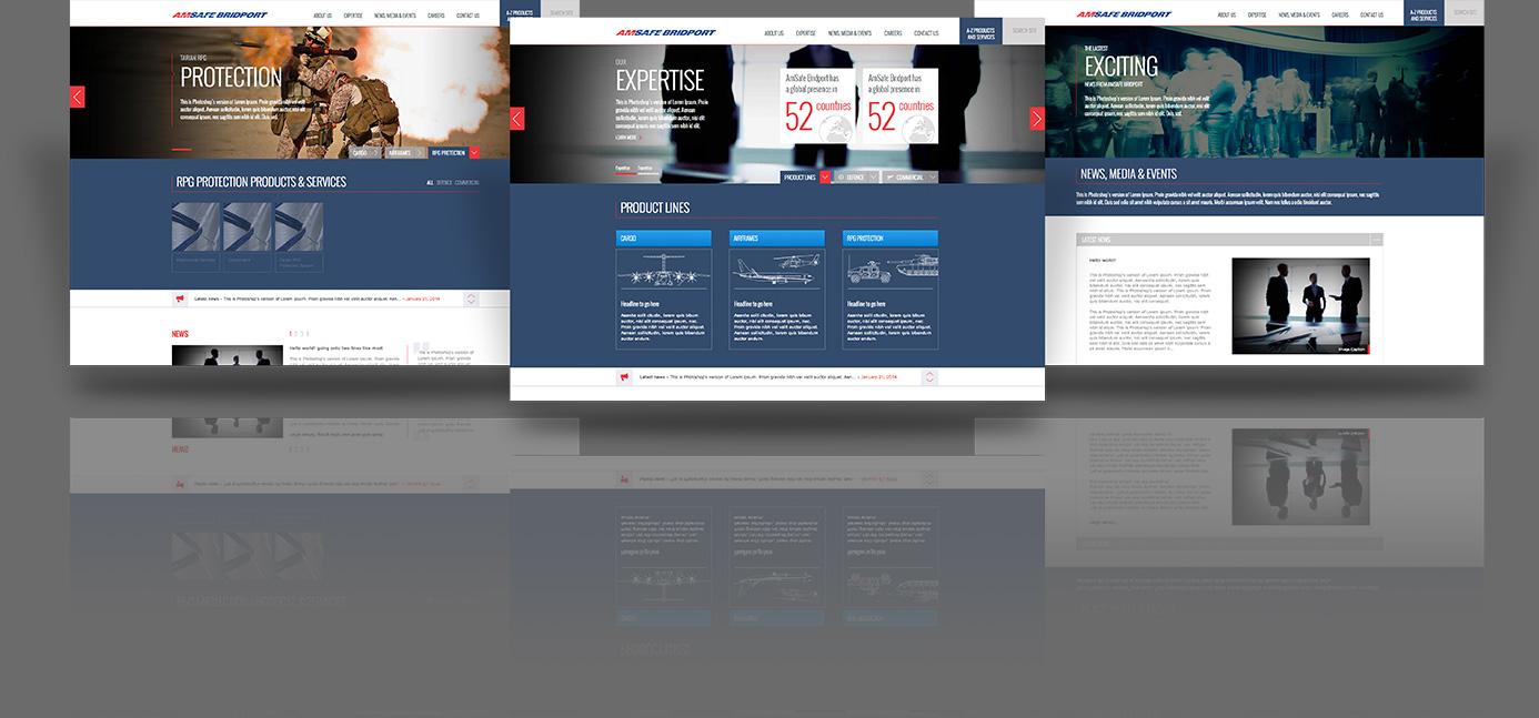 AmSafe Bridport Website