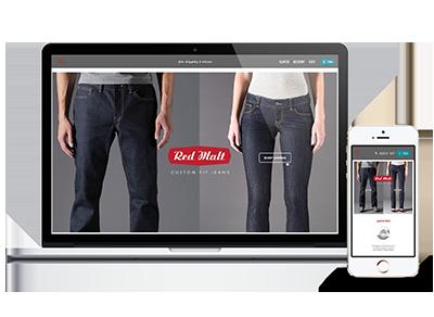 e-commerce website for Red Malt, Chicago