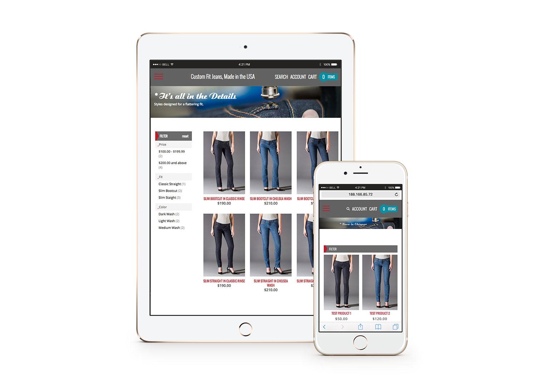 AJA Design I e-commerce website for Red Malt, Chicago