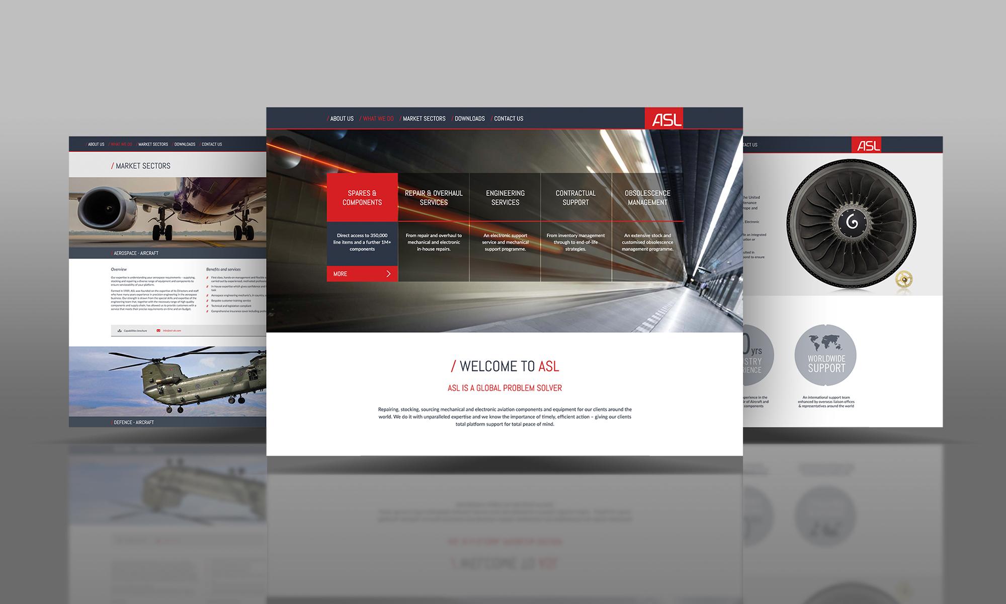 Responsive Website for World Leader – ASL
