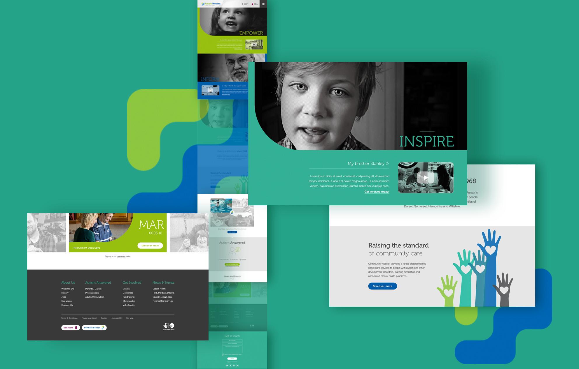 Autism charity website - Autism Wessex